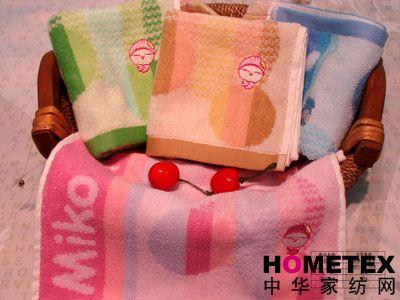 孚日家纺刺绣套巾产品图片展示