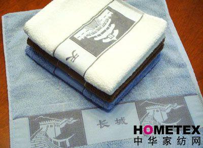 孚日家纺素缎毛巾产品图片展示
