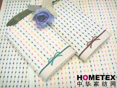 孚日家纺刺绣毛巾产品图片展示