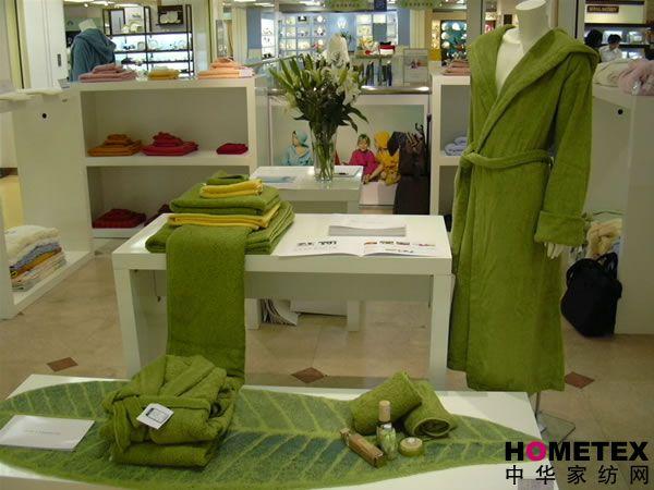 爱比丝毛巾上海梅龙镇伊势丹店店铺形象展示