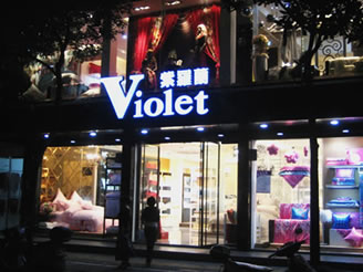 紫罗兰专卖店