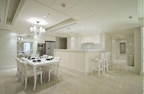 三房两厅欧式新古典主义风格厨房