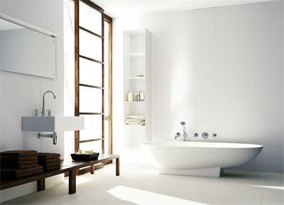 浴室装修实景图 世界一流
