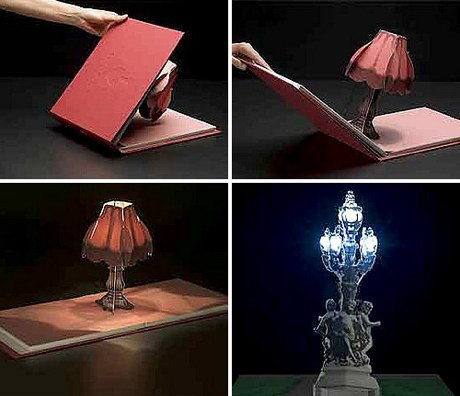 立体书灯 一本意想不到的书