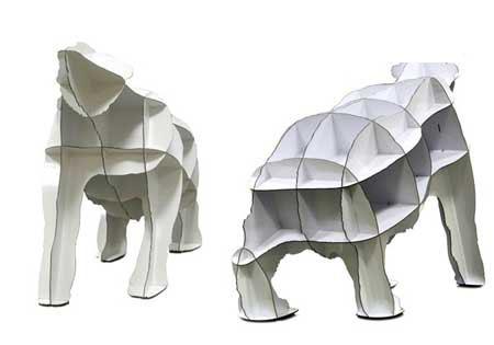 8款绝妙创意的动物外形家具
