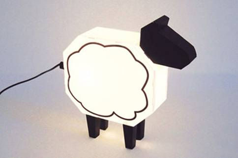 童真童趣 超可爱动物造型装饰灯
