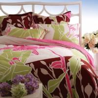 紫罗兰家纺叶落花啼产品图片展示