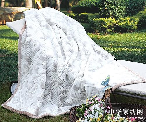 拉舍尔毛毯