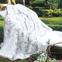 紫罗兰家纺拉舍尔毛毯产品图片展示