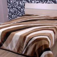 紫罗兰家纺毛毯X905(棕)产品图片展示