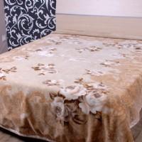 紫罗兰家纺毛毯X914(棕)产品图片展示