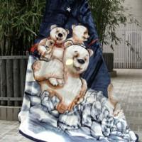 紫罗兰家纺童毯(小熊)产品图片展示