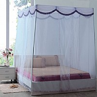 艾莱依家纺紫色的梦蚊帐产品图片展示