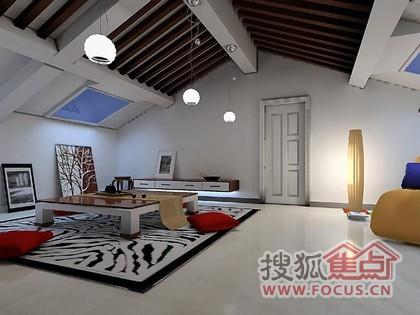閣樓裝修 讓房頂空間更炫美