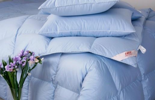 冰蓝色-千羽千寻羽绒被2010新品发布会图片