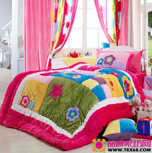 可爱儿童床品让卧室充满童趣