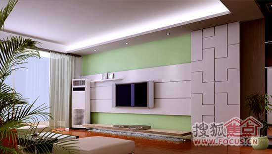 简约电视背景墙 成就经典客厅