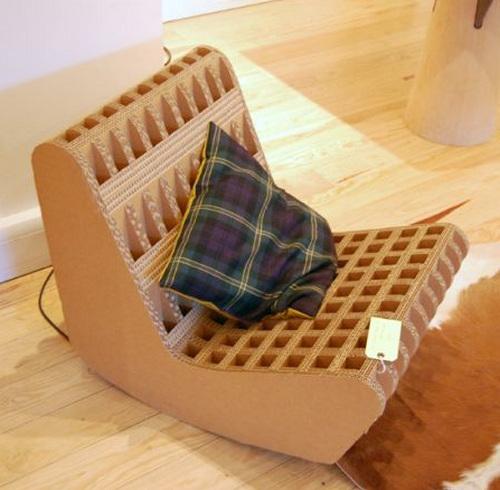 美丽而具有创意的纸板家具(二) - 时尚家居 - 中华