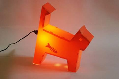 可爱 造型/超可爱的动物造型装饰灯