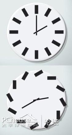 搞怪时钟,趁你不注意开始捣乱图片
