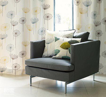 软装搭配 聆听窗帘与沙发的对话