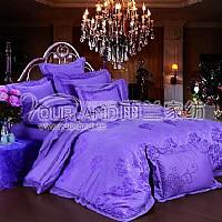 雨兰家纺紫韵妖娆产品图片展示