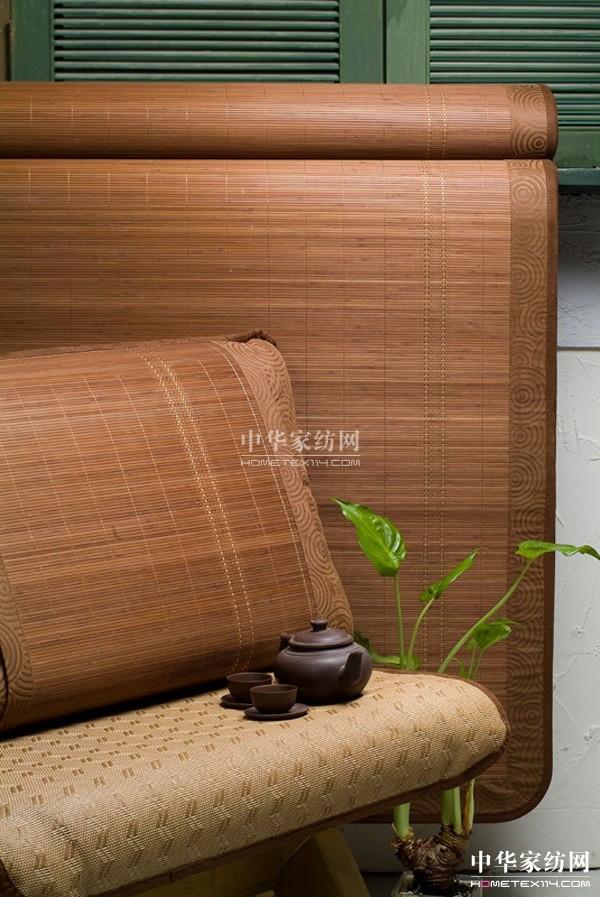 碳化竹丝席