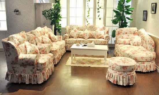 欧式新古典组合沙发现代沙发韩式田园风格
