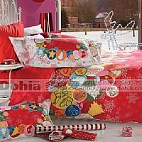 多喜爱家纺欢乐圣诞(红)产品图片展示