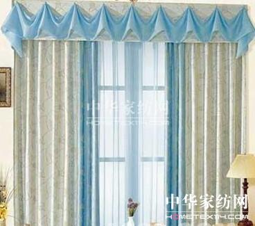 布艺窗帘样式多变给家居换种风格图片