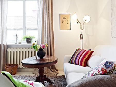 40平一室一厅北欧小户型简约风