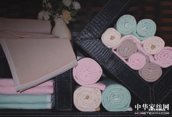 安琪尔纯棉绒毯