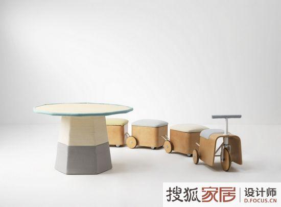 韩国儿童家具:贴心细节设计