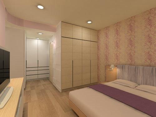 3房2厅收纳设计 2套100平装修效果图(下)