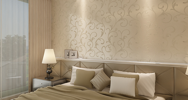 10款欧式墙纸设计 品味高贵典雅