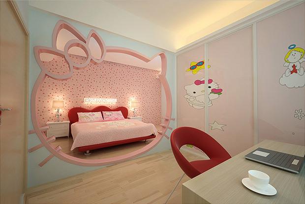 客厅造地台卧室书房休闲三合一