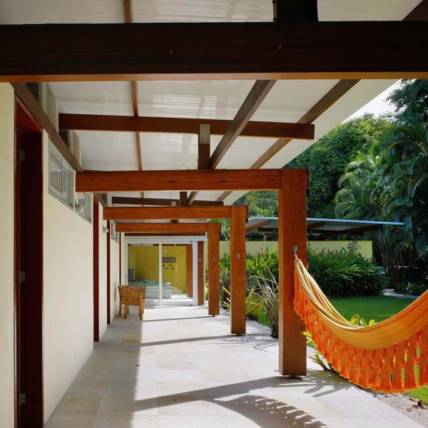 空间 圣保罗/圣保罗海景别墅拒绝单调打造自然空间