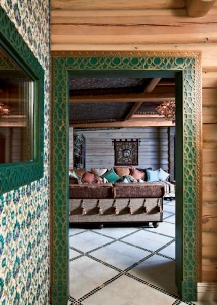 混搭装修 原始复古的狩猎风格小木屋