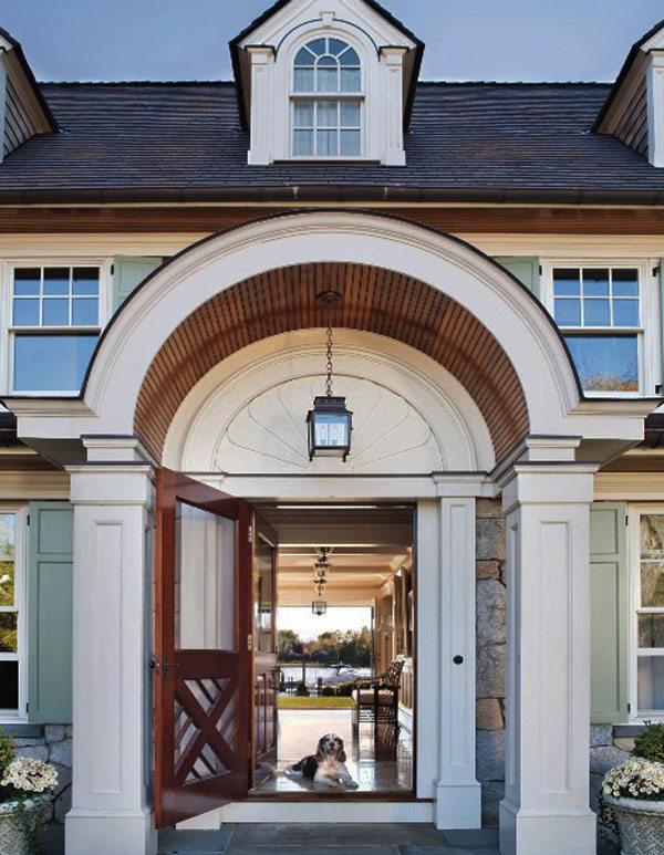 大门常打开 30款创意门前设计(1)