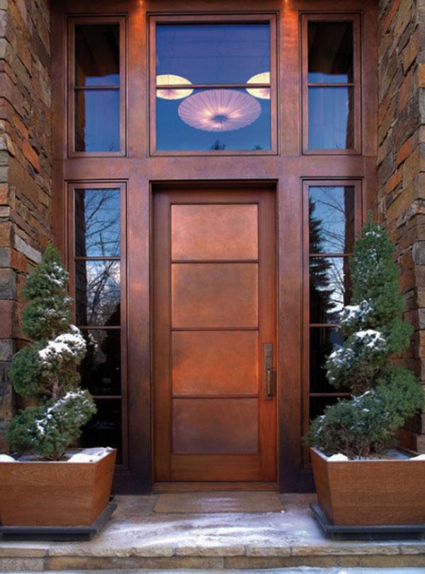 大门常打开30款创意门前设计 3
