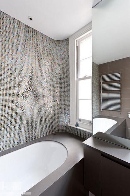 15款马赛克瓷砖变靓卫生间 上