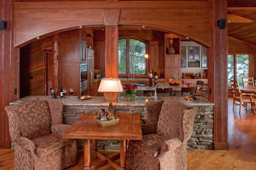 原生态木质打造简约现代厨房(2)