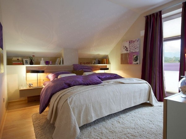 45款床头置物架点缀卧室(4)