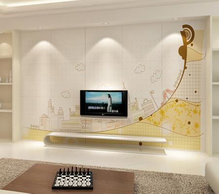 2012新潮创意电视背景墙