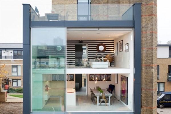 伦敦水塔改建的奢华住宅