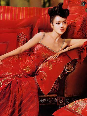 富安娜代言人杨丽萍