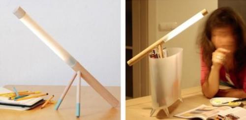 木棍 制作书桌步骤