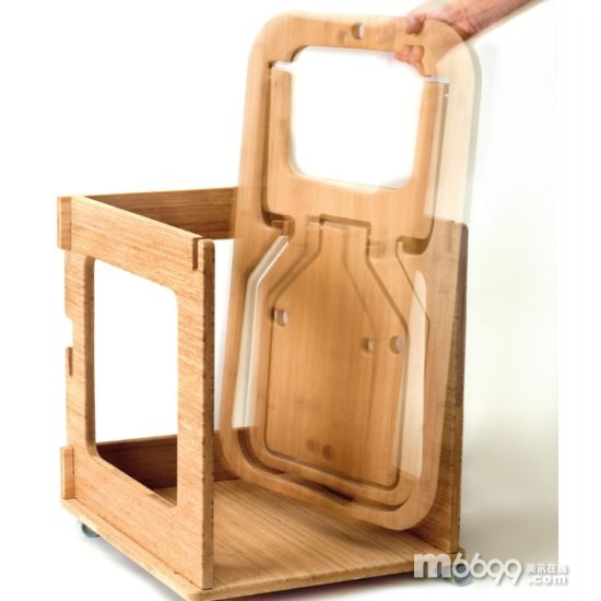 折叠平板椅子