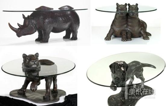 markstoddart:动物青铜家具设计