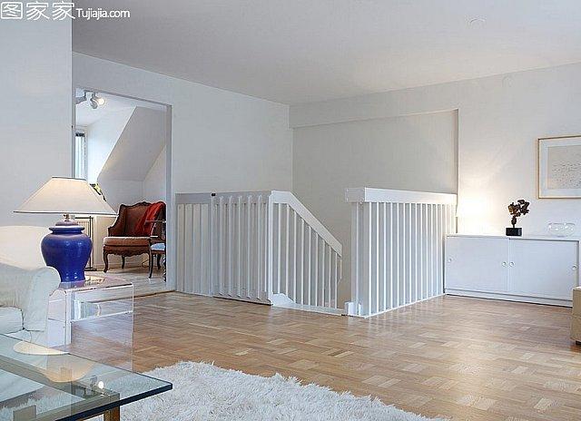 阁楼简约公寓 北欧风惬意阳台